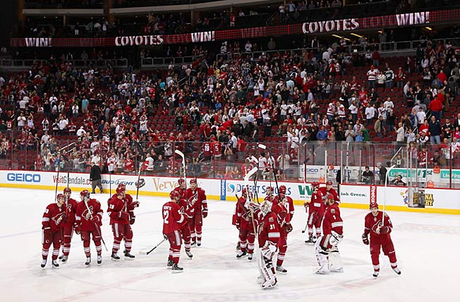 Now that it will be staying for a while, the team is expected to be rebranded as the Arizona Coyotes.