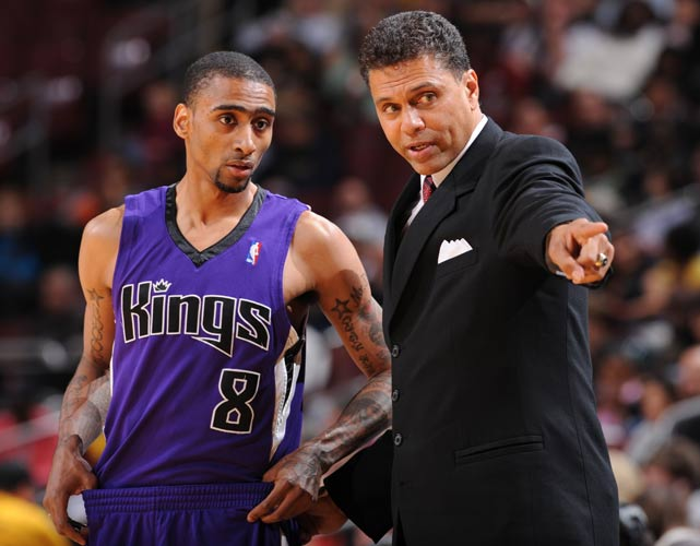 Reggie Theus has two successful seasons at New Mexico State before making the jump to the Sacramento Kings, whom he played for in the 1980s. But Theus struggled to turn the Kings around, coaching for a little over a season before being let go by the Maloof brothers in 2008.