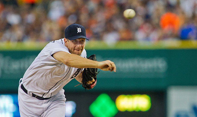 Max Scherzer is 13-0 for the Tigers in his bid to win his first AL Cy Young award.