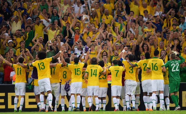 Brazil's Confederations Cup win lifted the team from 22nd in the FIFA rankings to ninth.
