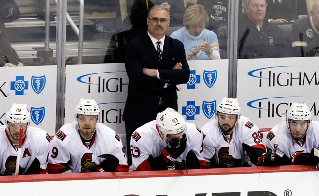 Paul MacLean won the Jack Adams Award after this past season as the NHL's top coach.