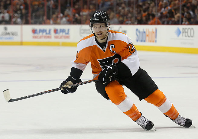Claude Giroux was named the captain of the Philadelphia Flyers prior to last season.