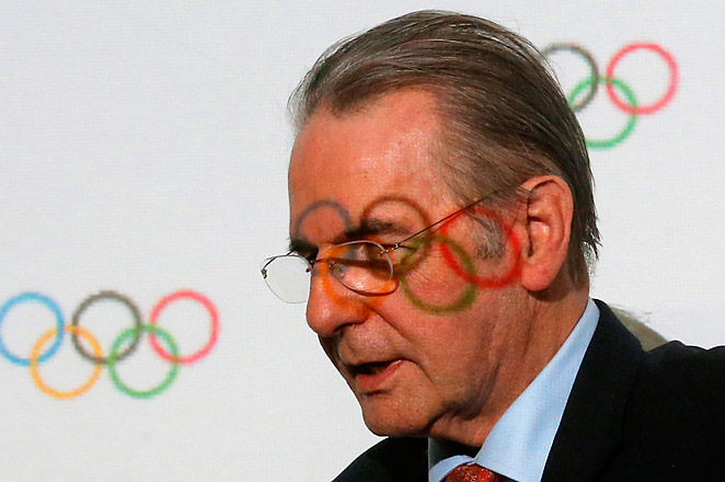 IOC President Jacques Rogge is leaving after 12 years. His successor will be elected on Sept. 10.