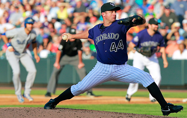 Colorado's Roy Oswalt has struggled, but remains a good source of desperation strikeouts on Sunday.