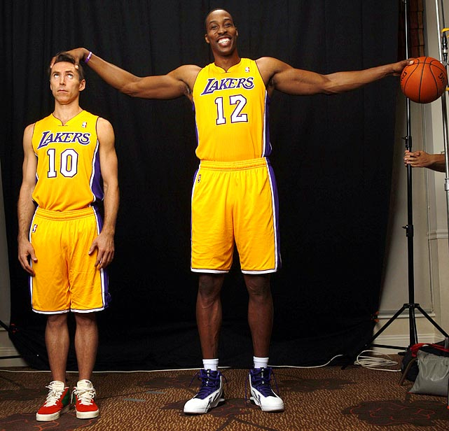 Howard and Steve Nash joined the Lakers prior to the 2012-13 season, in what should have made the team a dominant force. The Lakers were anything but, barely making the postseason, only to be swept by the Spurs in the first round.