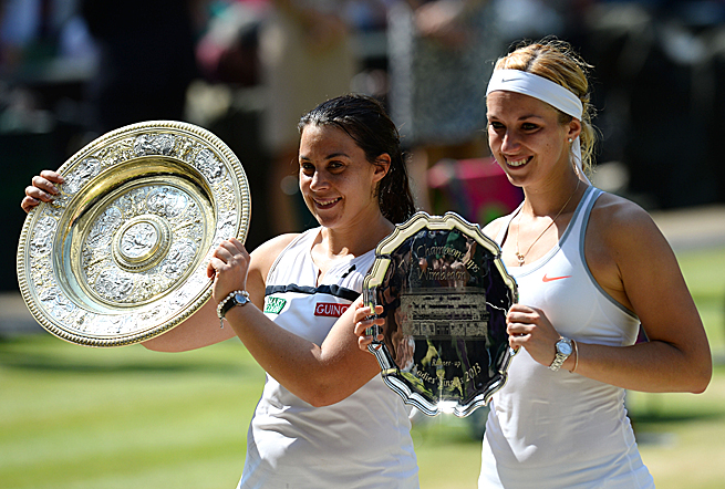 Marion Bartoli didn't drop a single set en route to winning the Wimbledon title over Sabine Lisicki.