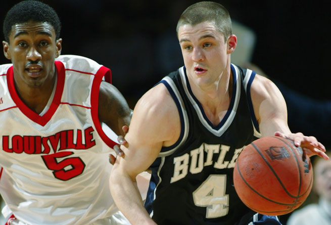 Brandon Milled spent his playing days at Butler, helping the team win three straight conference titles.