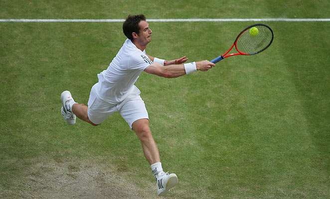 Andy Murray worked hard even by his lofty standards in an epic semifinal against Jerzy Janowicz.