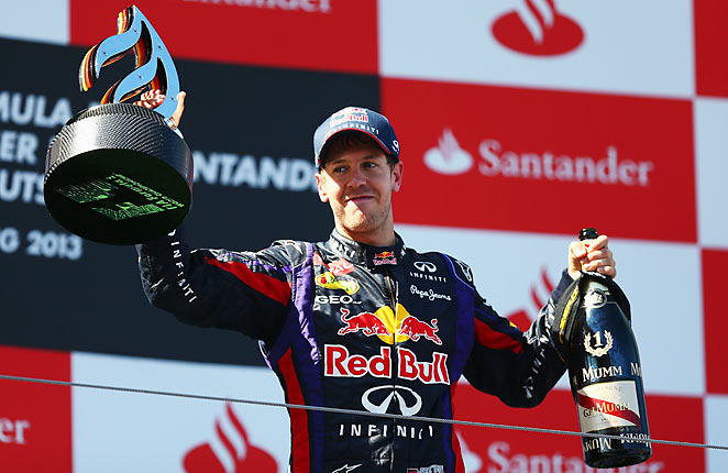 Sebastian Vettel won his first race on home soil as he captured the German Grand Prix.