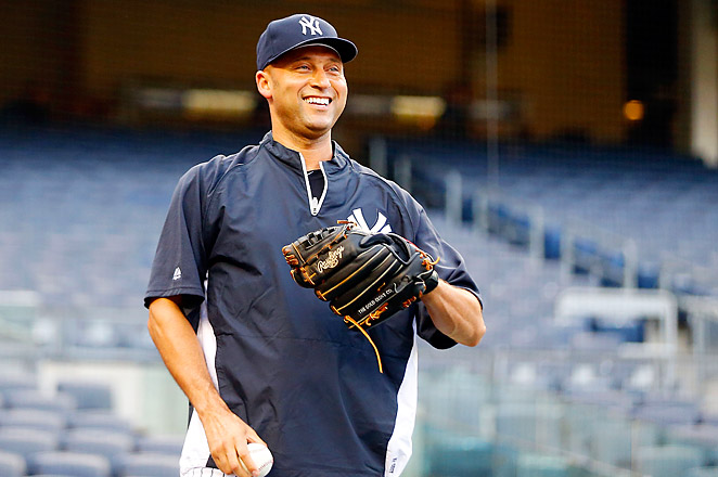 Derek Jeter, who got his first hit in rehab on Sunday, may return from his injury even before the break.