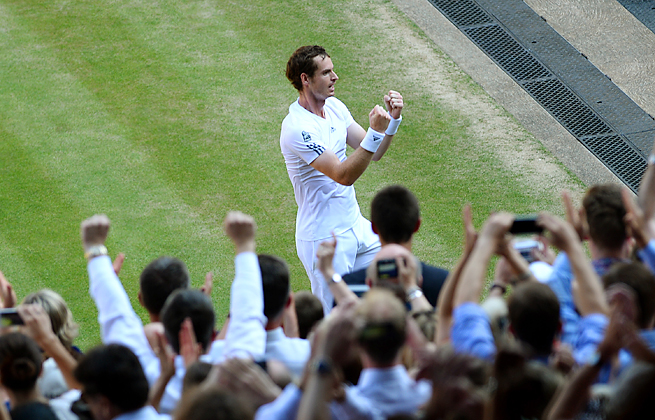 Andy Murray's win at Wimbledon proved a relief as much as a thrill for player and countrymen alike.