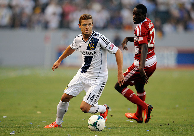 Robbie Rogers had an assist against Dallas and turned in his best performance since joining the Galaxy.