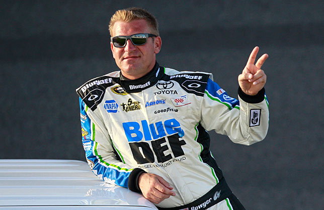 Finishing second in the points last year hasn't cursed Clint Bowyer this season...with one exception.