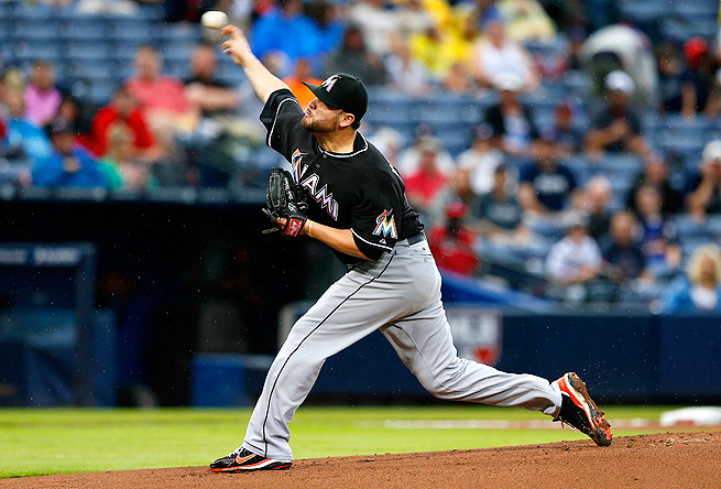 Ricky Nolasco, who was traded to the Dodgers July 7, has a 3.85 ERA and 90 strikeouts in 18 starts.