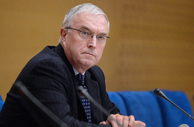 Pat McQuaid is seeking a third four-year term as president of the International Cycling Union.
