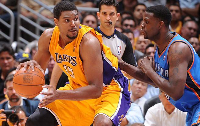 Andrew Bynum, who sat our all of last season, met with the Cavaliers on Monday.