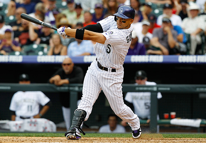 Carlos Gonzalez looks to have dodged a bullet after straining his back and injuring his finger last week.