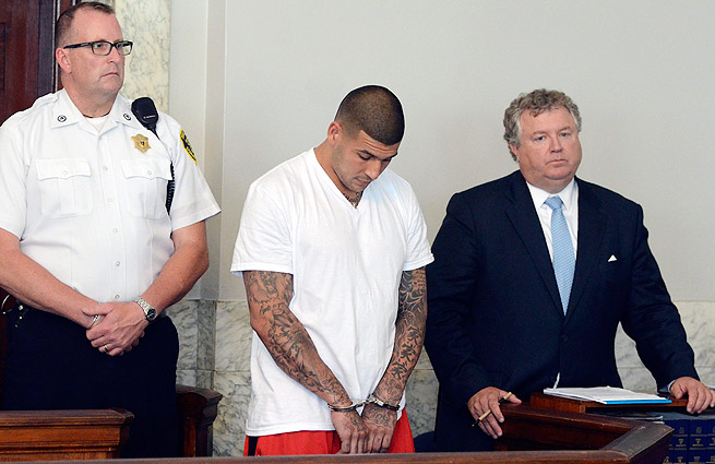 Aaron Hernandez faces murder and multiple gun charges in the death of Odin Lloyd.