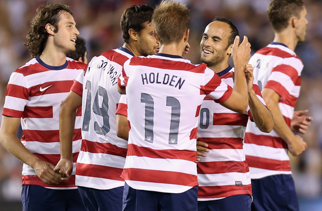 Landon Donovan added a goal and two assists in the USA's 6-1 rout of Belize.