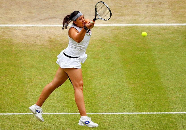 Marion Bartoli, seeded 15th, won Wimbledon without dropping a set or facing a higher-ranked player.