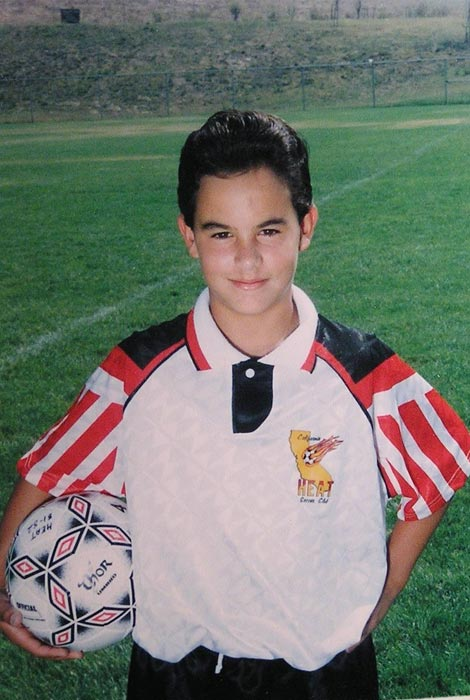A former dare-to-dream-big kid who matured into the most decorated male player to ever don the United States uniform, Landon Donovan will retire at the end of the 2014 MLS season. On the heels of that news, here are some classic photos of Landon Donovan.