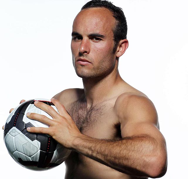 Donovan poses during an SI photo shoot.
