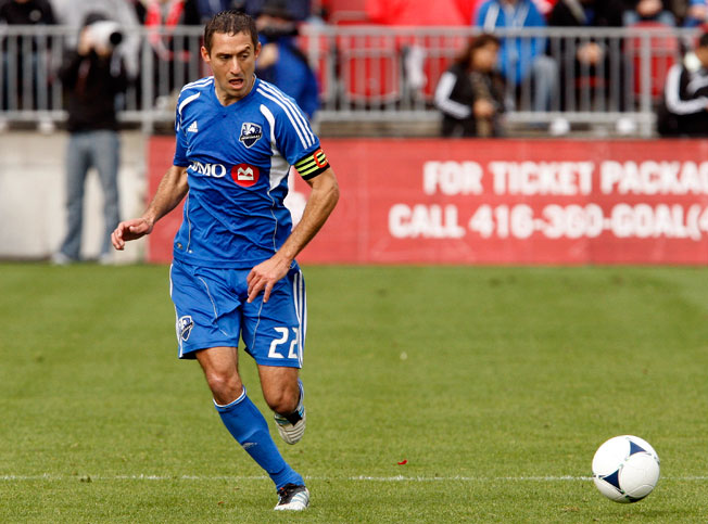 Montreal Impact captain Davy Arnaud received death threats on Twitter after a home loss to Colorado.