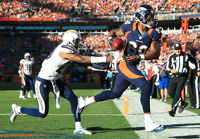 Demaryius Thomas rewarded fantasy owners who invested in Denver's potent offense last season.
