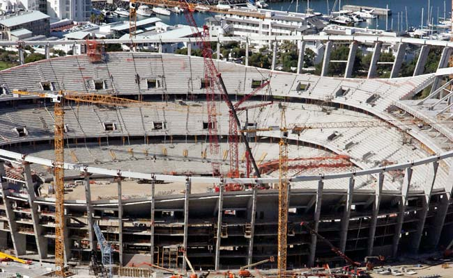 Cape Town may have been overcharged by as much as $220 million for the construction of its stadium.