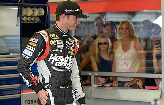 It's been a while since Kasey Kahne had a reason to smile, but he should find it in New Hampshire.