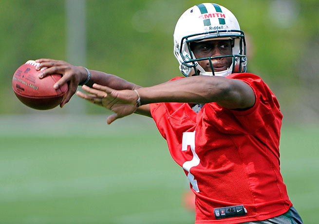 Geno Smith, whom the Jets selected out of West Virginia, will compete for starting quarterback job.