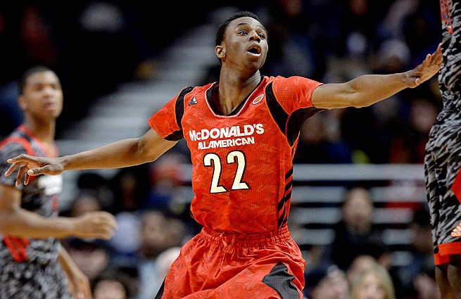 Andrew Wiggins, who will play at Kansas this fall, is considered the top prospect in the 2014 NBA draft.