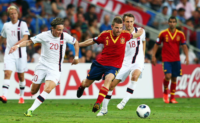 Asier Illarramendi was named one of the best players of the UEFA U21 Championship in June.