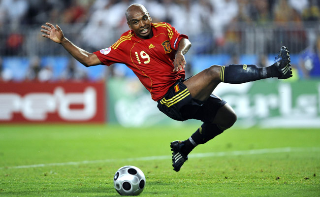 Marcos Senna helped Spain win Euro 2008 and was named among the best players at the tournament.