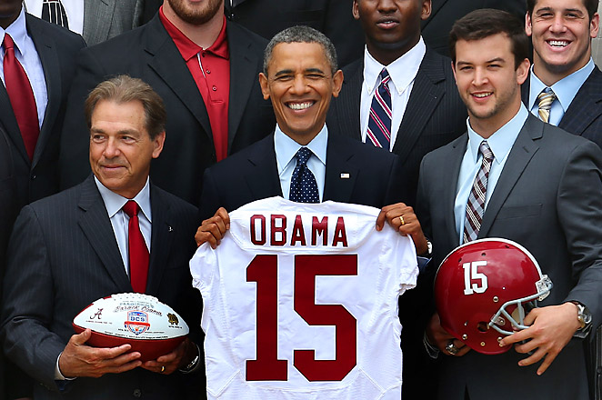 Barack Obama has expressed interest in dropping by the College GameDay set as a guest picker this fall.