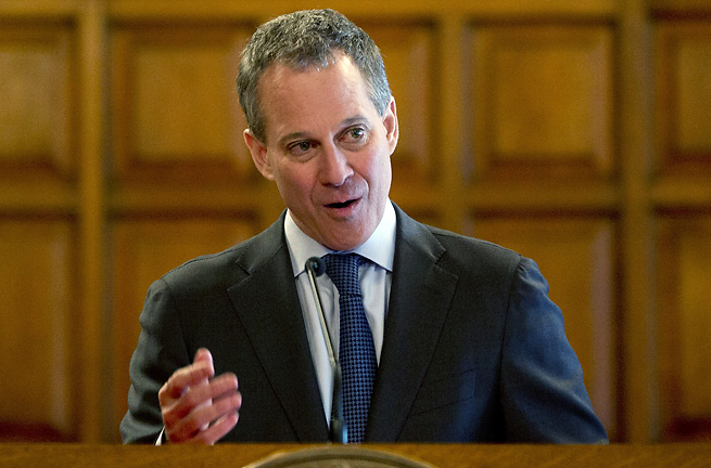 New York Attorney General Eric Schneiderman helped draft MLB's new workplace code of conduct.