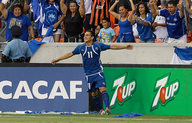 Rodolfo Zelaya's second half goal is all El Salvador needed to take care of Haiti on Monday.