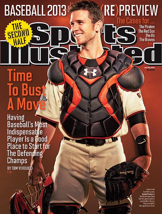 Buster Posey has been at the center of the Giants' success through two World Series victories, and holds together a team of characters. In this issue of SI, Tom Verducci explores the game's most indispensable player.