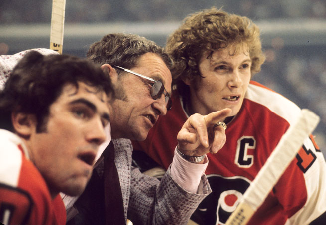 Hall of Fame coach Fred Shero won two Stanley Cups with the Flyers and had a major impact on the modern NHL.