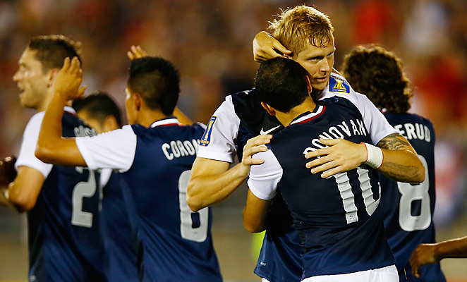 Brek Shea had Landon Donovan to thank for a brilliant pass that led to the winning goal against Costa Rica.