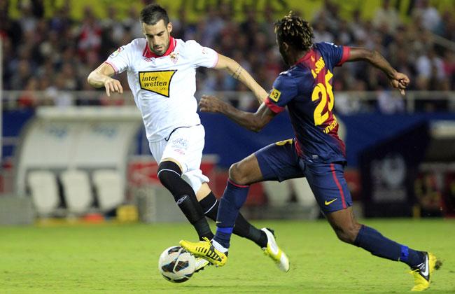 27-year-old striker Alvaro Negredo scored 70 goals in 139 appearances for Sevilla.