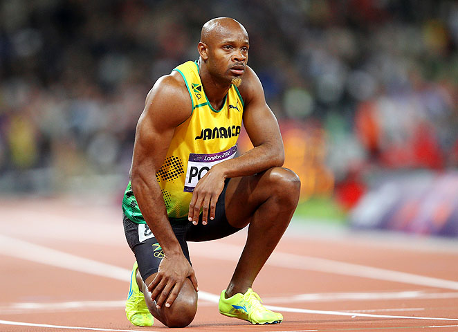Asafa Powell tested positive for the stimulant oxilofrone at the Jamaican championships last month.