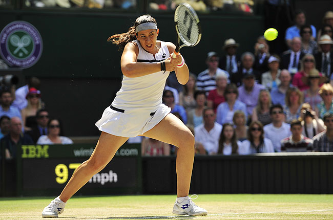 Bartoli said her hamstring problem began at Wimbledon and hasn't healed properly since her victory.