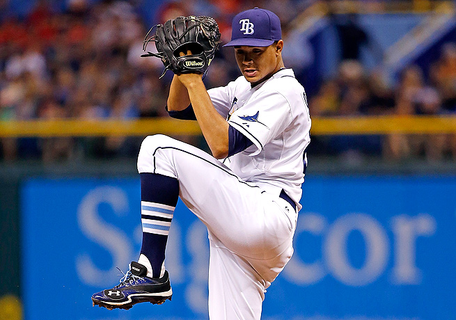 Through 51.2 innings pitched this season, Chris Archer boasts a 2.96 ERA and 40 strikeouts.