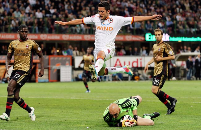 Brazilian midfielder Marquinhos played 26 Serie A matches for AS Roma last season.