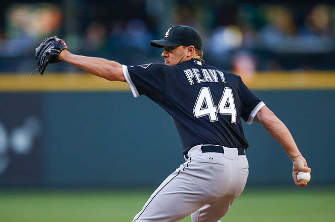 Jake Peavy has been out for the White Sox since June 5, with a fracture of the left fourth anterior rib.