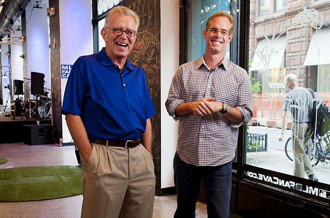 McCarver (left) will broadcast his final full season of baseball this year for Fox alongside Joe Buck.