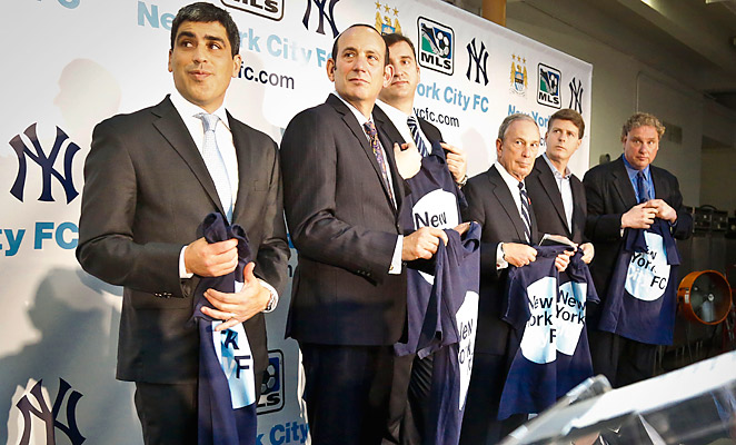 New York City FC will begin play in 2015 as MLS' 20th team, but the team is still searching for a home field.
