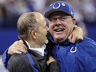 Arians and Chuck Pagano were a winning combination in Indianapolis last season.