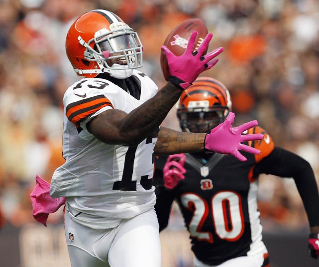 The Browns receiver was handed a two-game suspension on June 7 for violating the league's substance abuse policy.